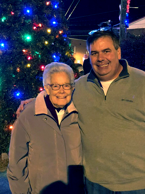 Pennington Gap Christmas Parade 2020 Sr. Beth Davies, CND, honorary Christmas Tree Lighter at